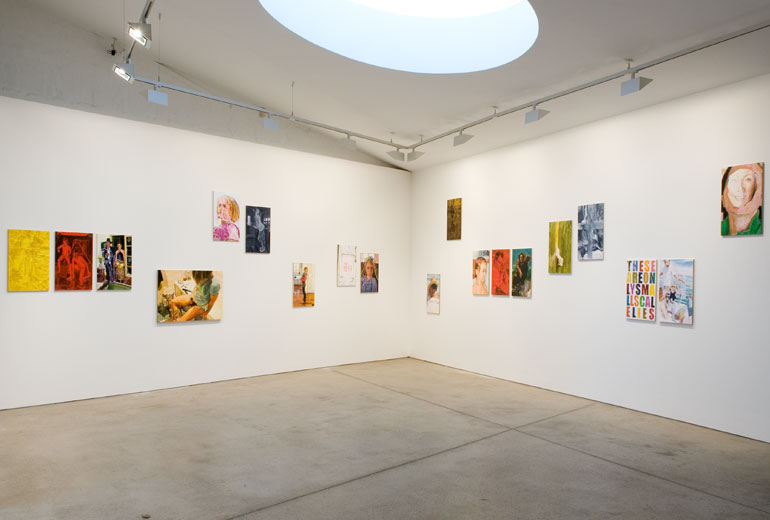 LIAR, installation view, Sarah Cottier Gallery, Sydney, 2008.