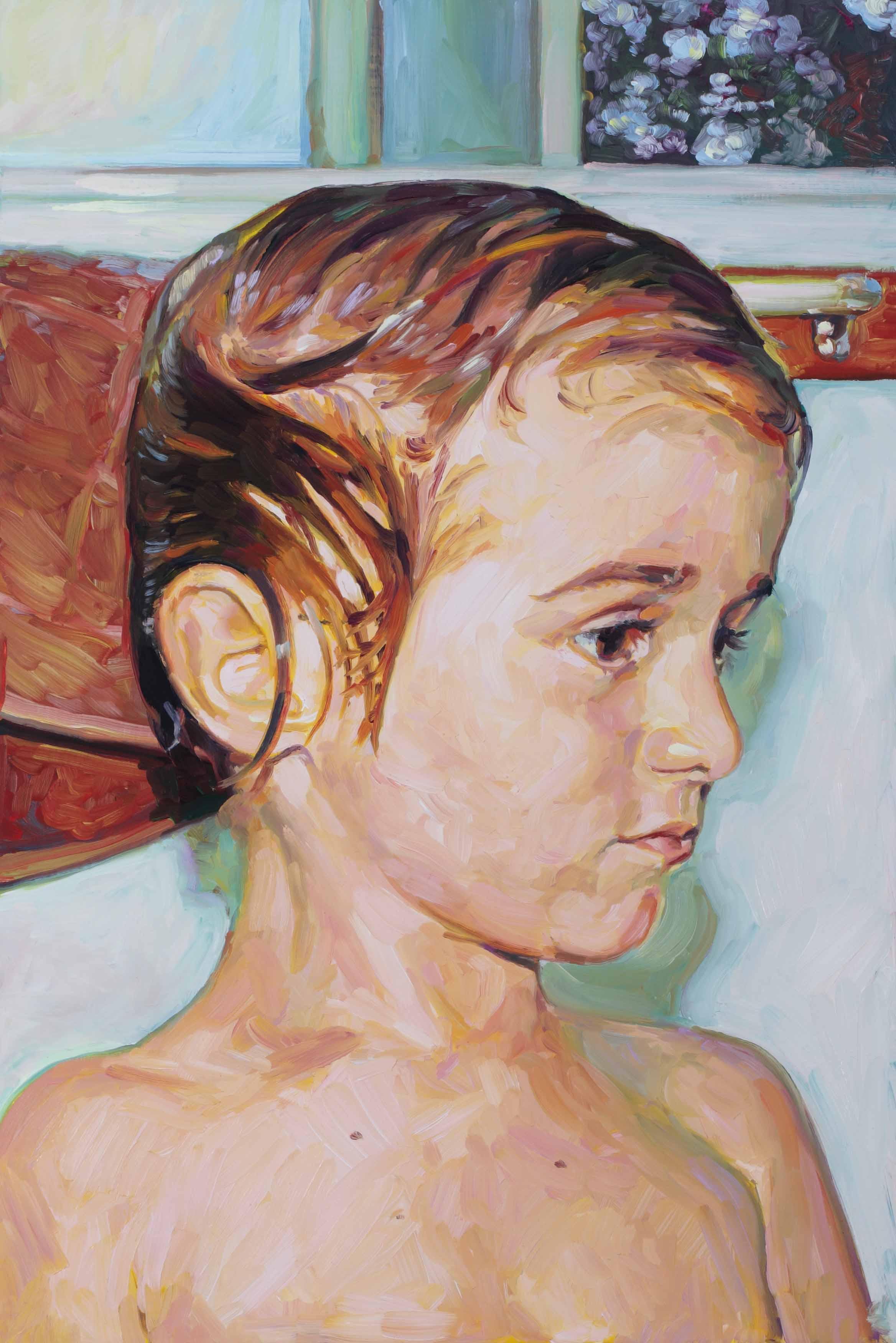 Hugo, oil on board, 60 x 40 cm, 2008.