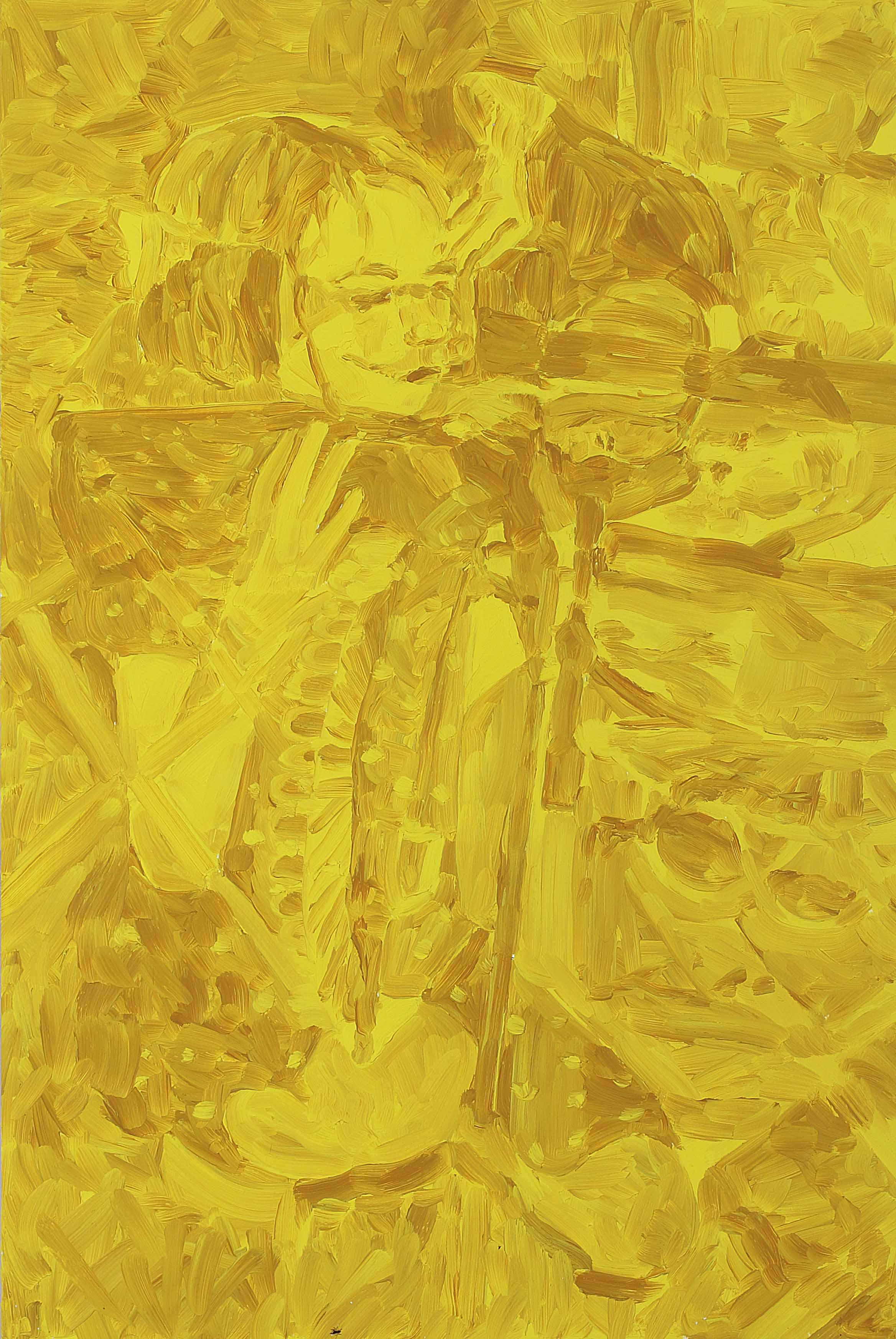 Aim, oil on board, 60 x 40 cm, 2008.