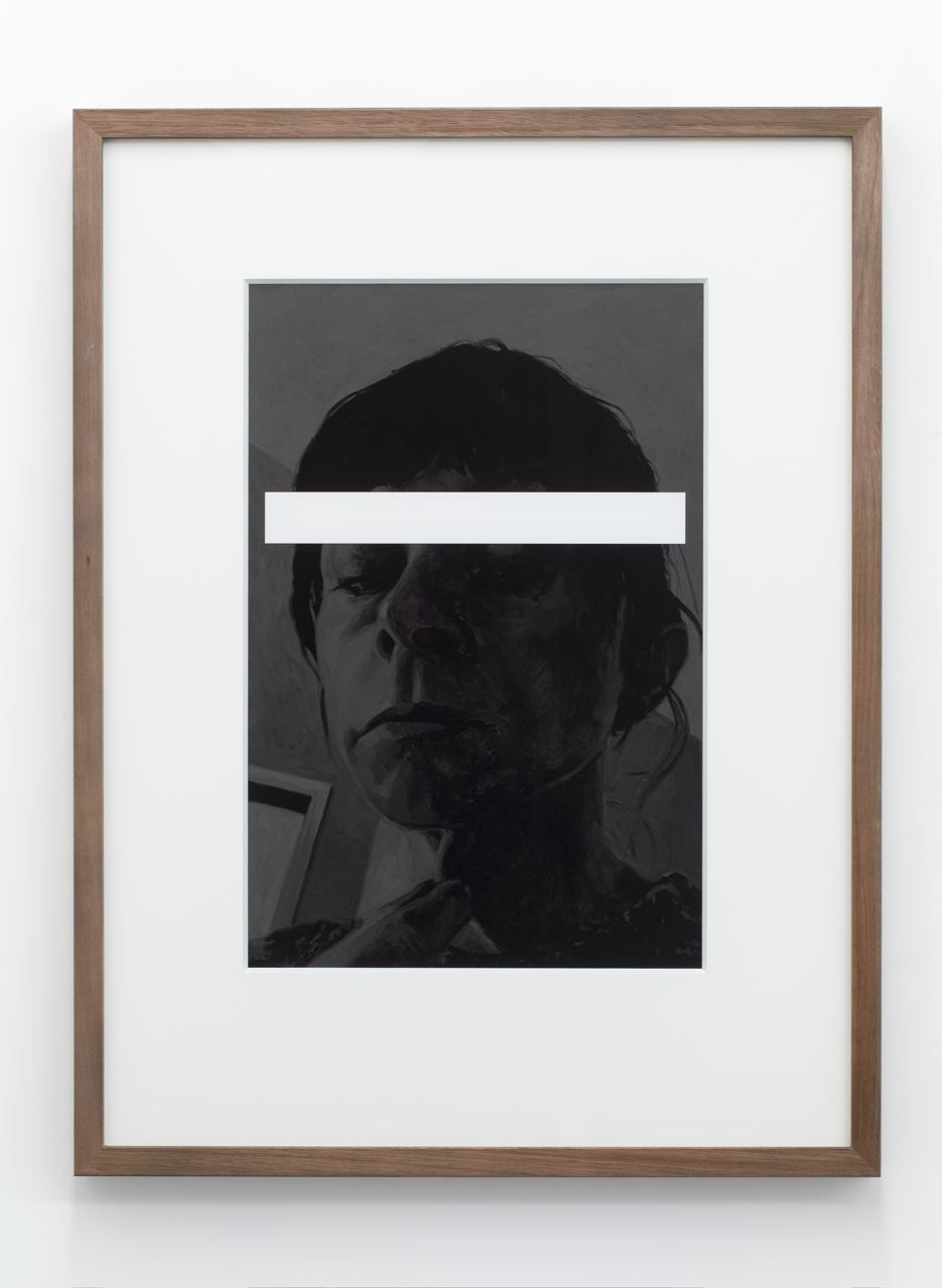 Ghost Skin, archival pigment ink-jet print on hahnamuele, 70 x 52cm (framed), 2013.