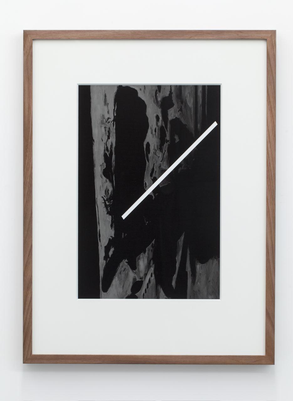 The Dark, archival pigment ink-jet print on hahnamuele, 70 x 52cm (framed), 2013.