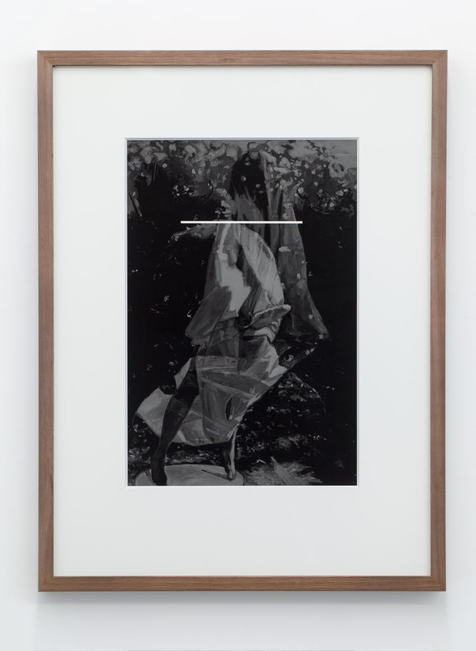 Poking The Ghost Skin, archival pigment ink-jet print on hahnamuele, 70 x 52cm (framed), 2013.