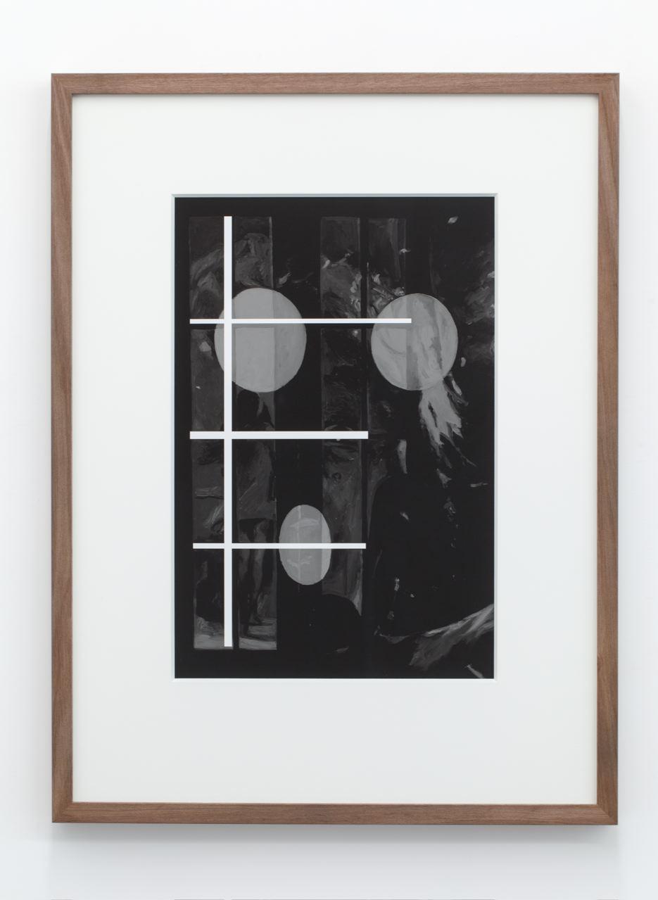 Draw Breath, archival pigment ink-jet print on hahnamuele, 70 x 52cm (framed), 2013.