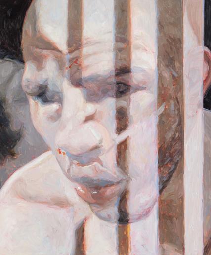 untitled, oil on board, 60 x 50 cm, 2013.