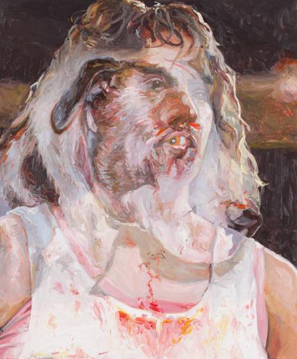 Mouthful, oil on board, 60 x 50 cm, 2013.