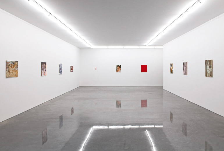 Installation view, Marathon Boxing and Dog Fights, Sarah Cottier Gallery, Sydney.