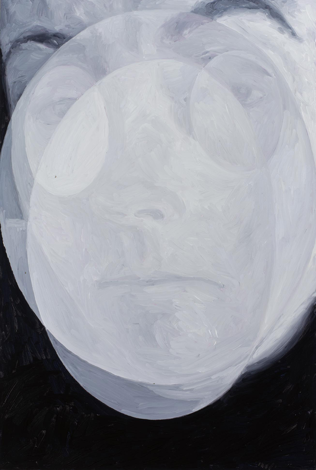 Ghost God, oil on board, 60 x 40 cm, 2012. Private collection.