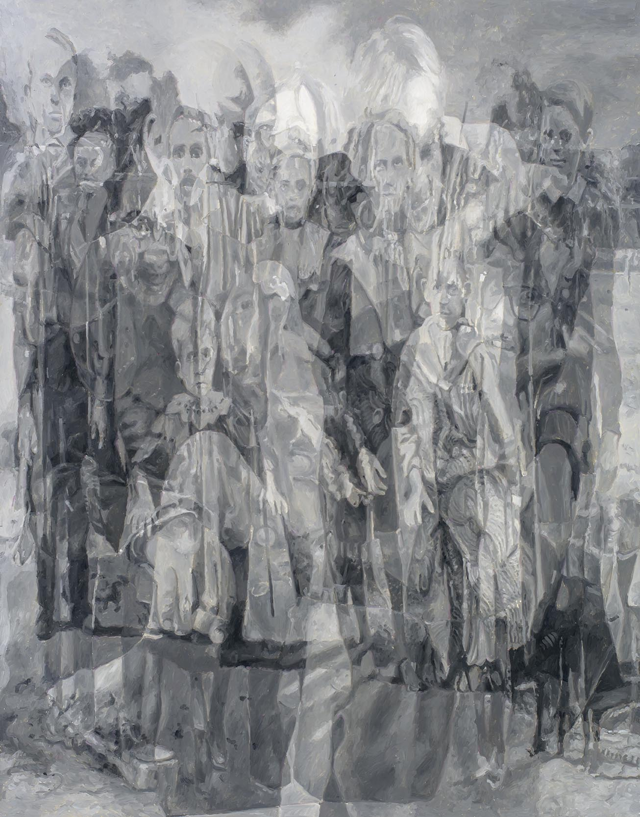 Copy of Intergenerational (Fraga/Fragar), oil on board, 90 x 70cm, 2016. (Private collection)