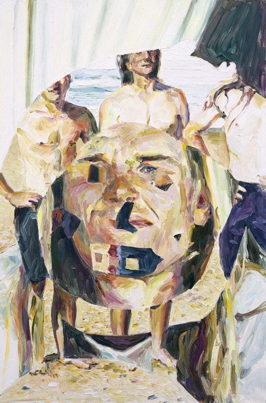 Bradley Mackie, oil on board, 60 x 40 cm, 2008.