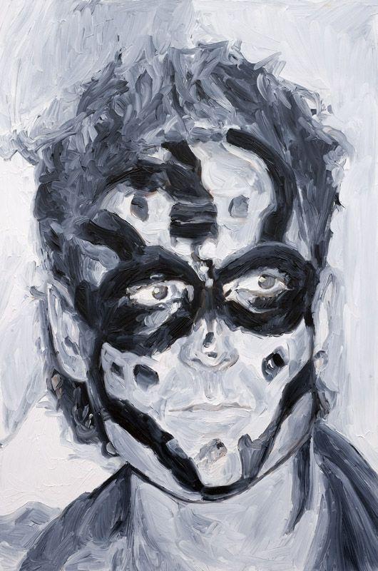 James Kessel, oil on board, 60 x 40 cm, 2008.