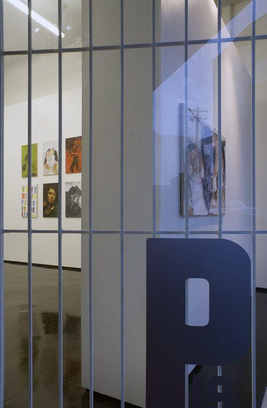 Installation view, Man, Peloton, Sydney, 2007.