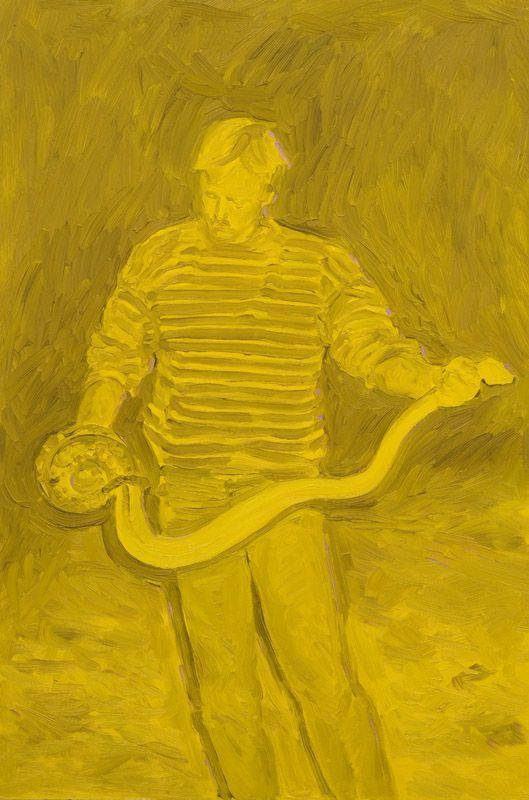 Tim Fragar, oil on board, 60 x 40 cm, 2008.