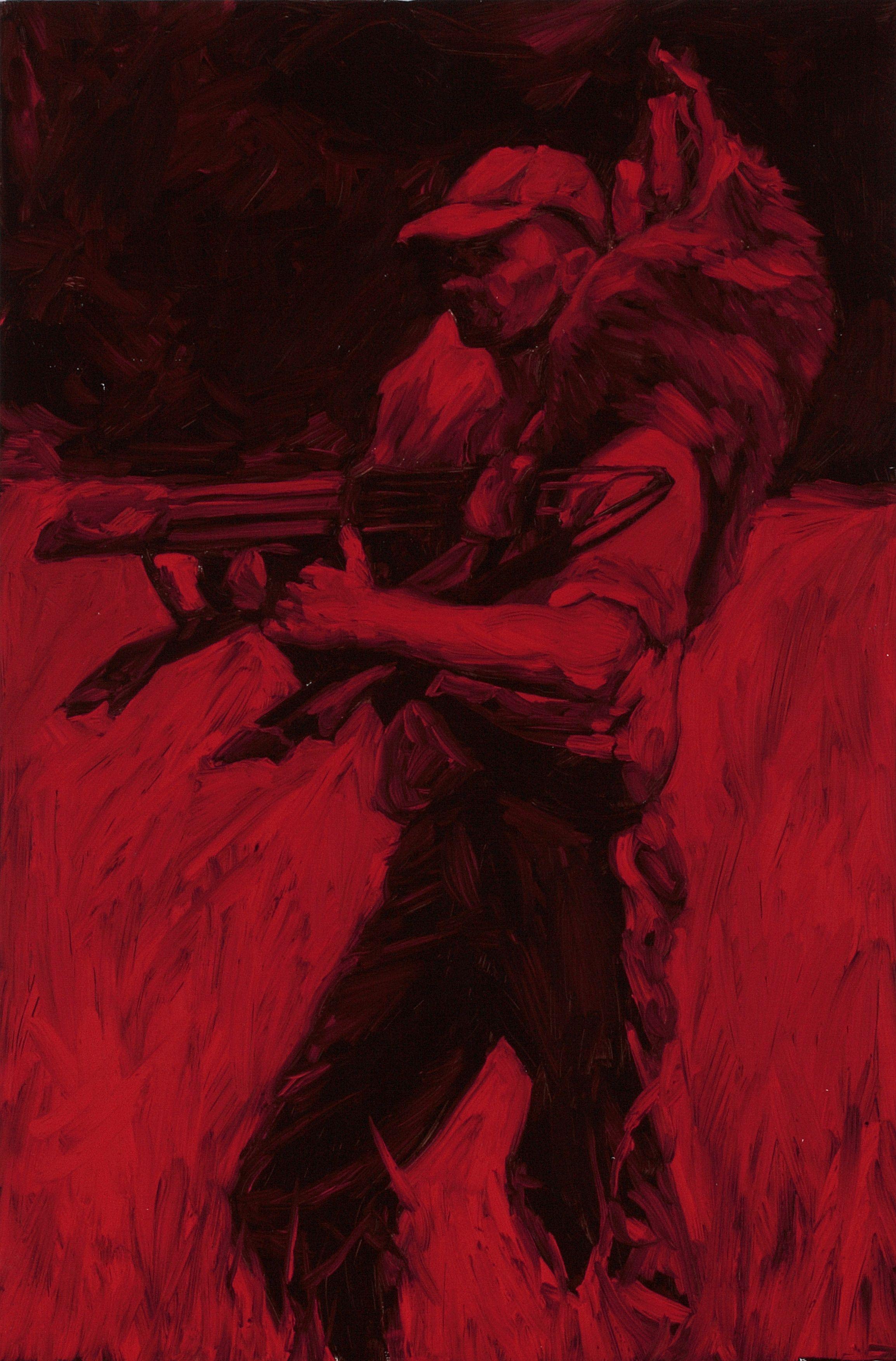 Jason Podlich, oil on board, 60 x 40 cm, 2008.