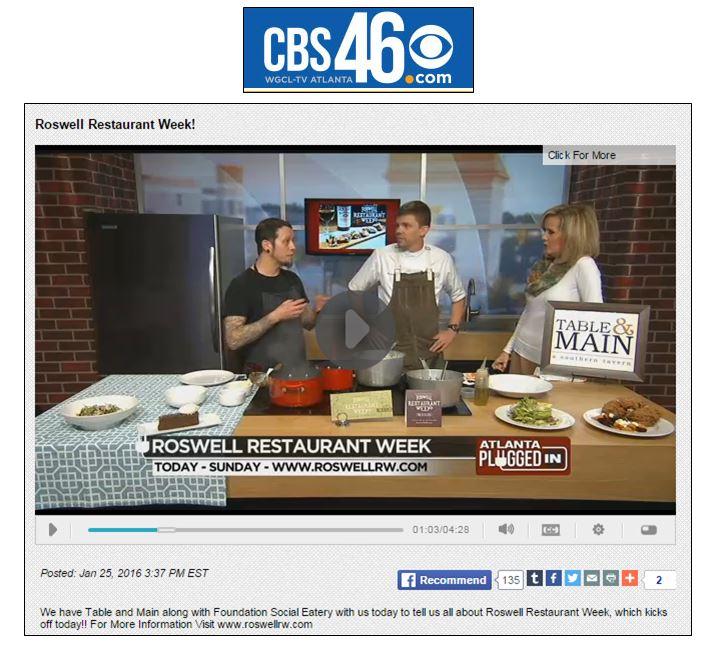 January 25, 2016 - CBS Atlanta