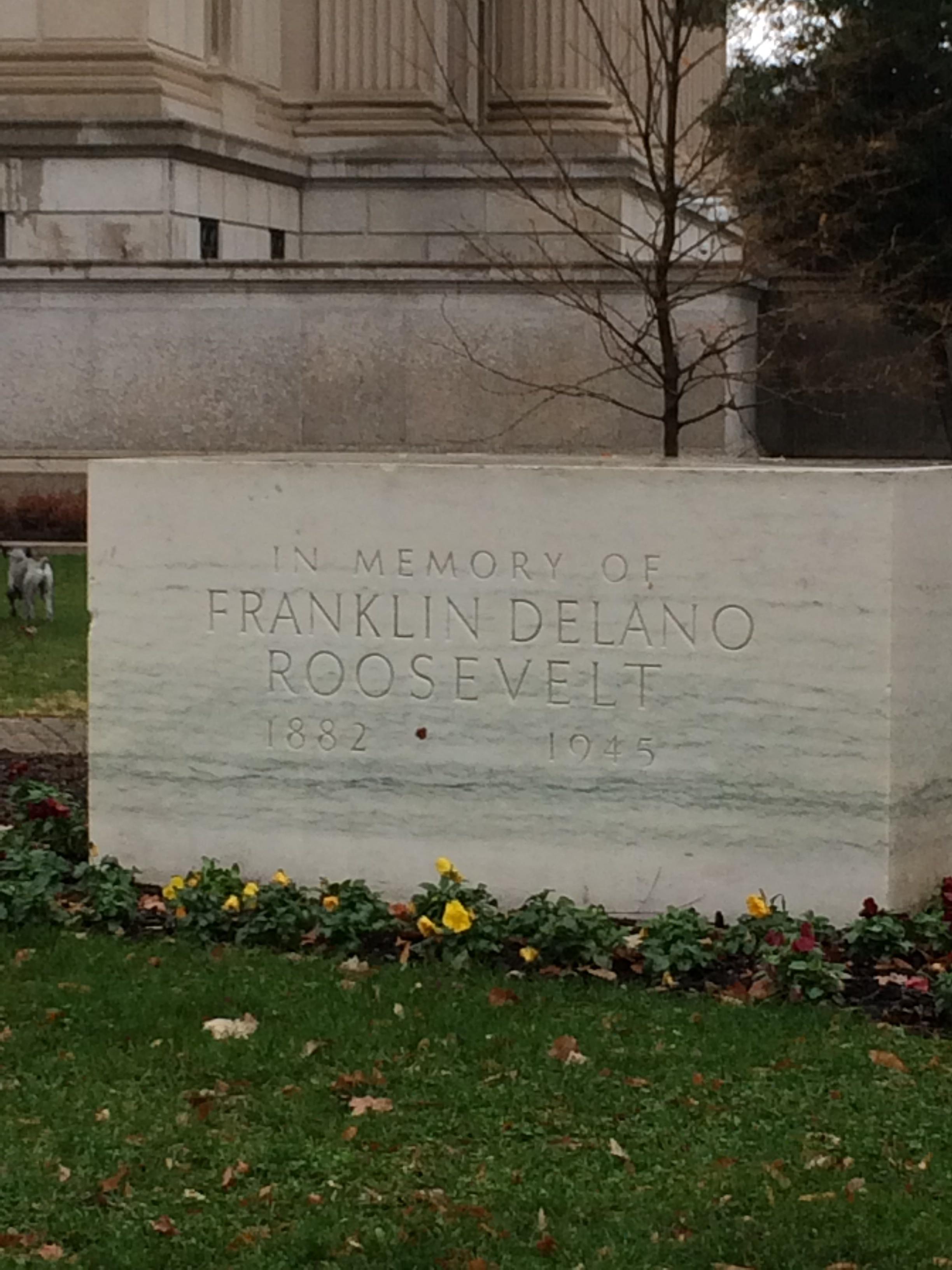 Original FDR Memorial
