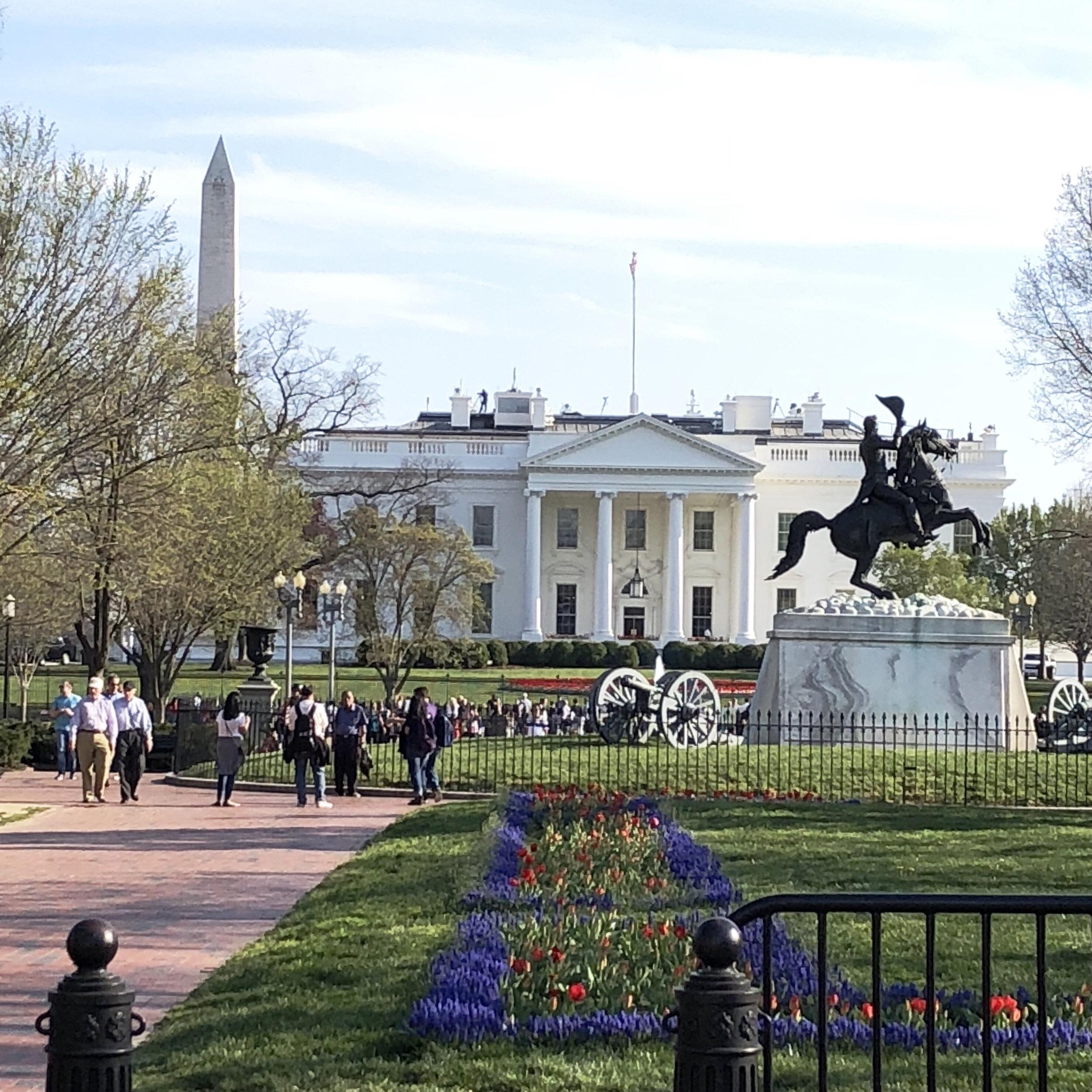 White House & Lafayette Park