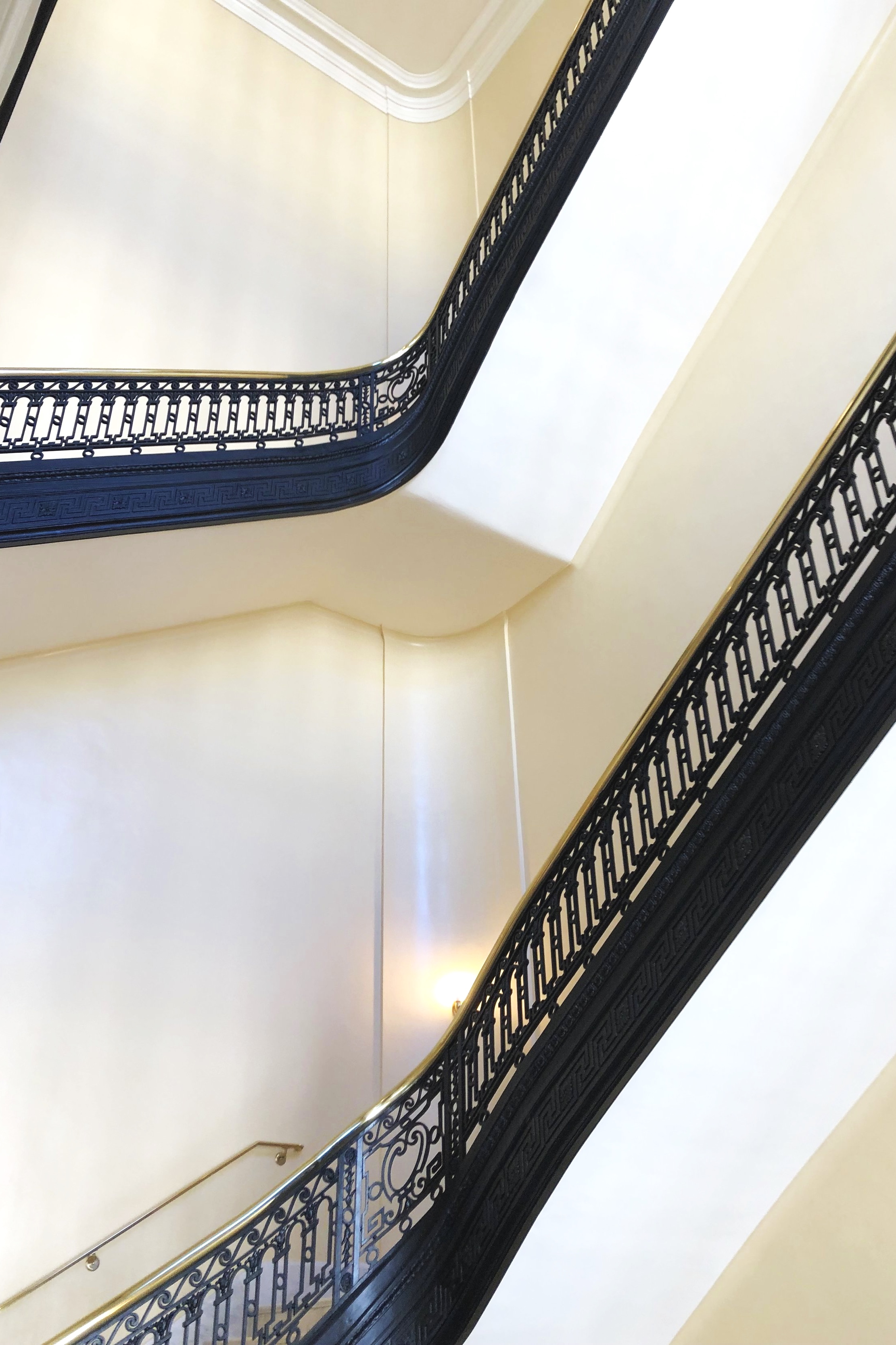 Staircase in Cannon House Office Building