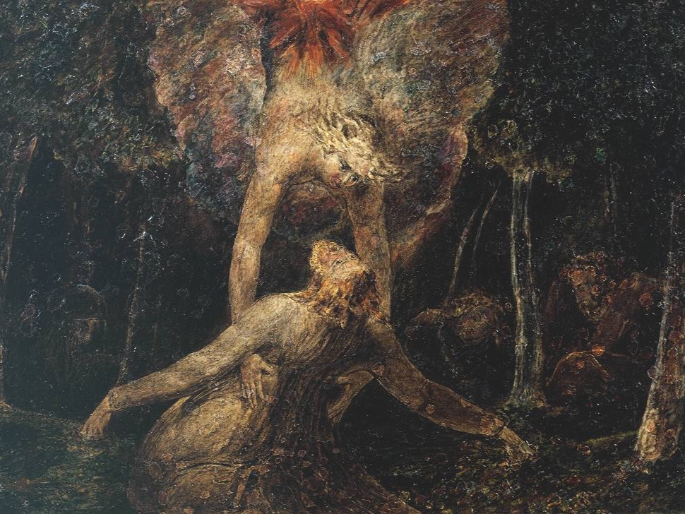 The Agony in the Garden , 1799–1800, by William Blake