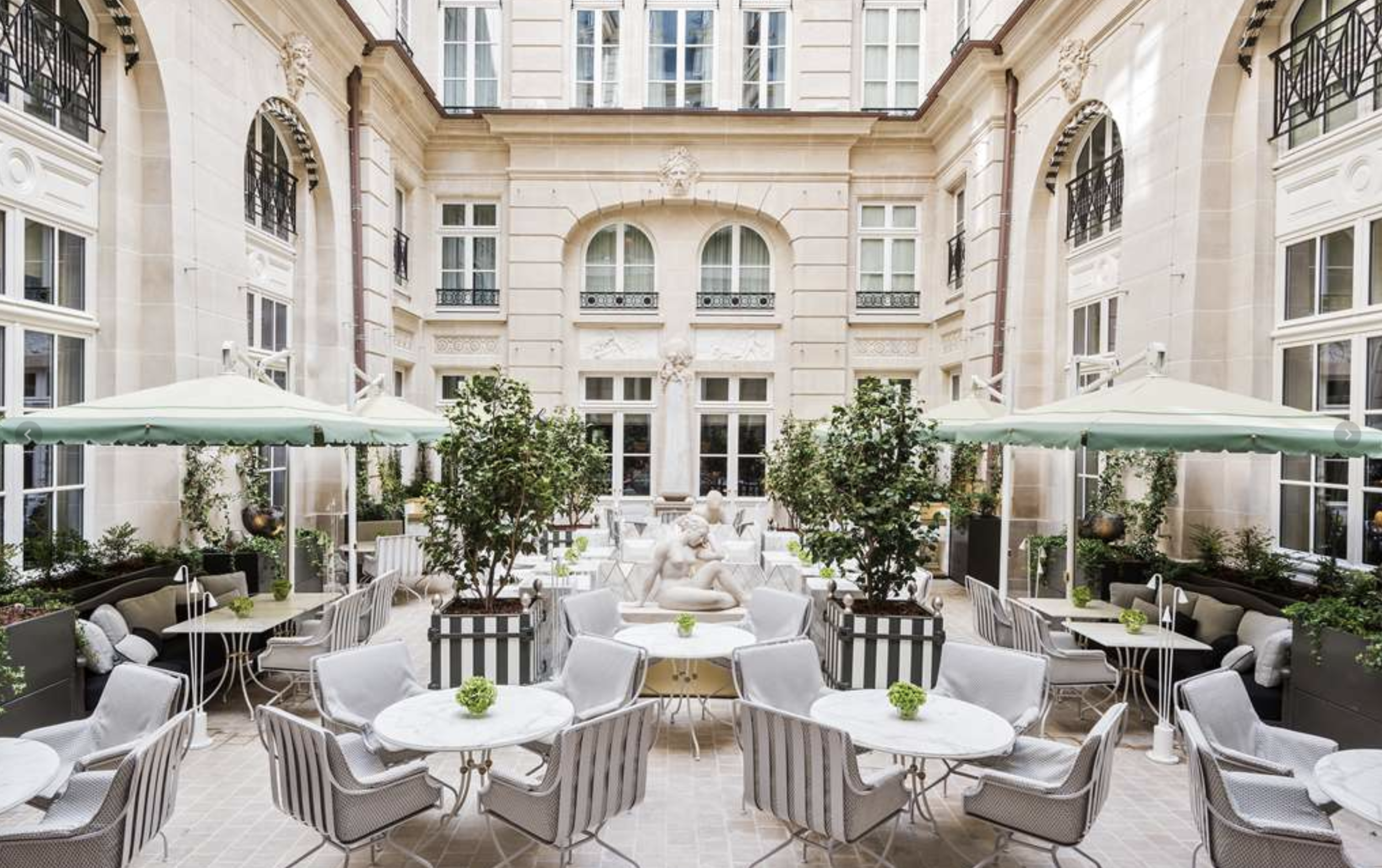 Travel Well - Book an urban oasis to replenish you while you see the sites. The Hotel de Crillon, A Rosewood Hotel, is the epitome of the elegance and spirit of Paris and just newly refurbished. Savor quiet moments at their spa, Sense, with a menu of treatments inspired by East Asia and France. Or swim in their gorgeous indoor pool. By balancing time touring and time for replenishment, you'll return home feeling yourself.France
