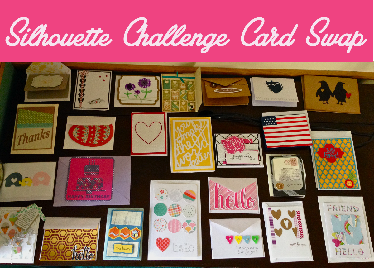 Silhouette-Challenge-Card-Swap