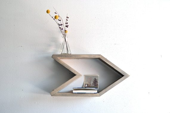 Arrow Shelf Set of 2 by   The807