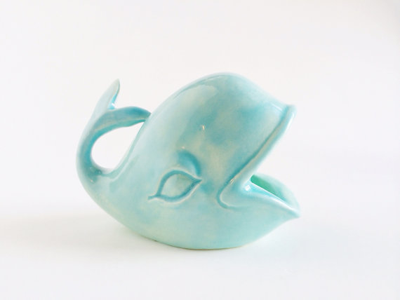 Whale Ring Holder by   PotteryLodge