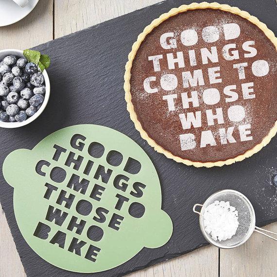 Those Who Bake Cake Stencil by   SophiaVictoriaJoyLtd