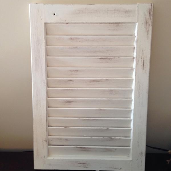 painted shutter