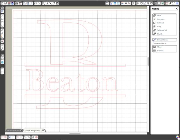 Step 5 Creating a Custom Monogram