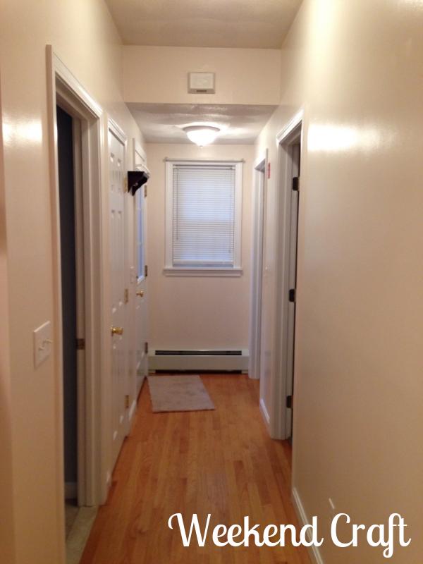 hallway Empty House Tour