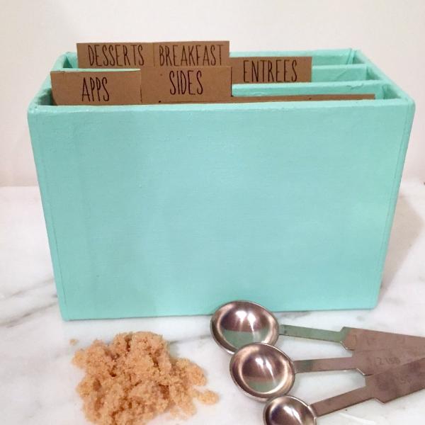 DIY Recipe Box