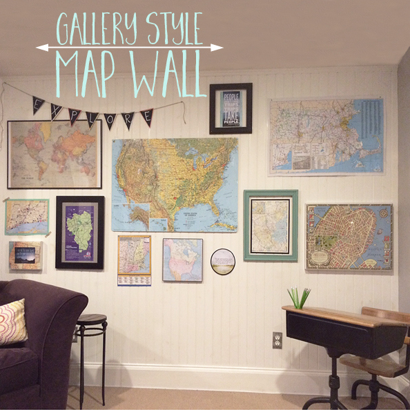 Map Gallery Wall