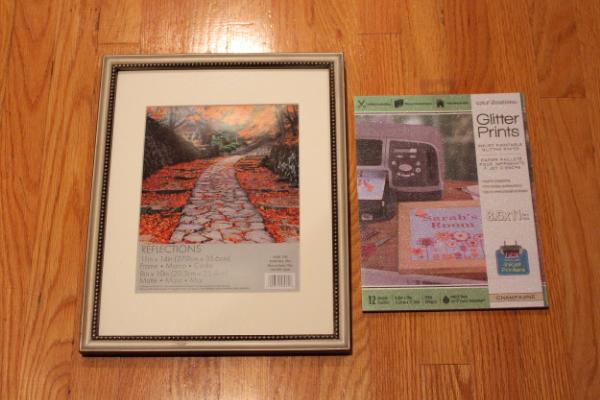 Frame and Glitter Prints