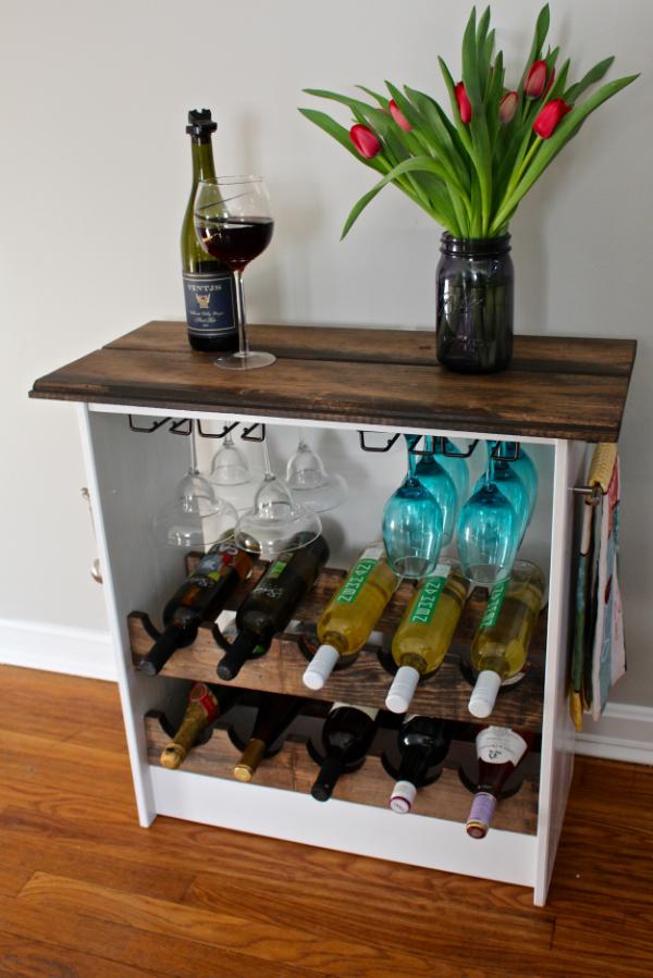 ike hack wine rack