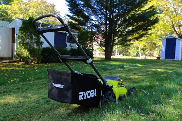 Ryobi 40v cordless lawnmower