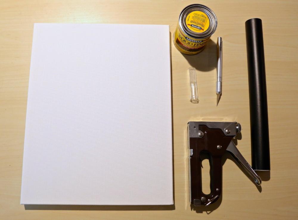 reverse canvas supplies
