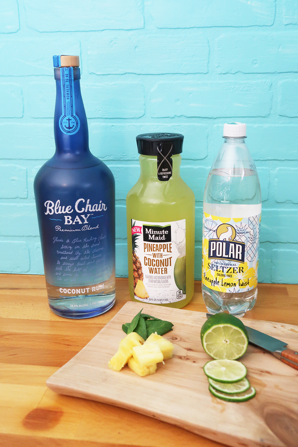 Pineapple Coconut Mojito Ingredients