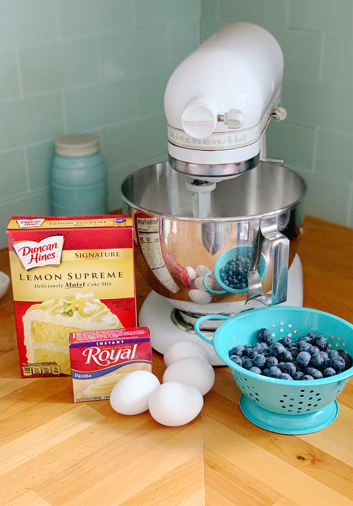 Lemon Blueberry Cake Recipe1