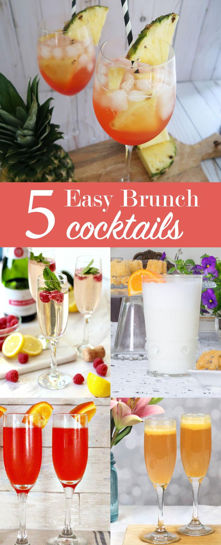 5 Easy Brunch Cocktails