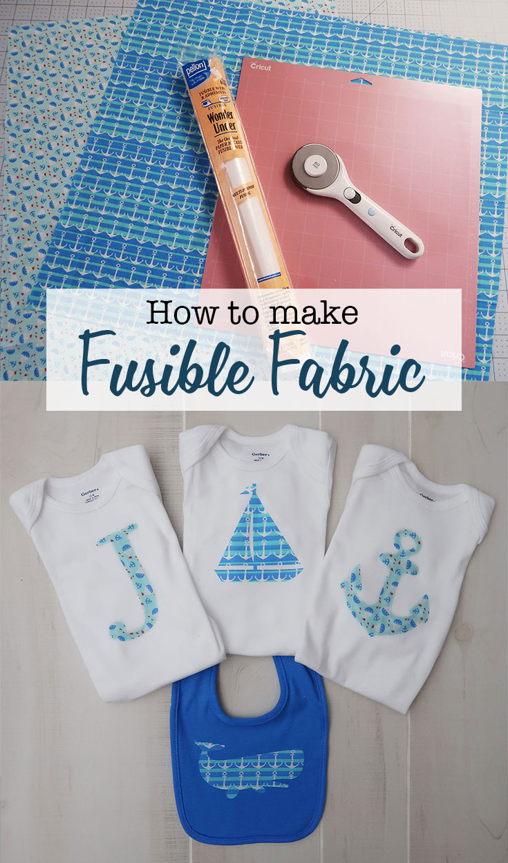 How to make fusible fabric