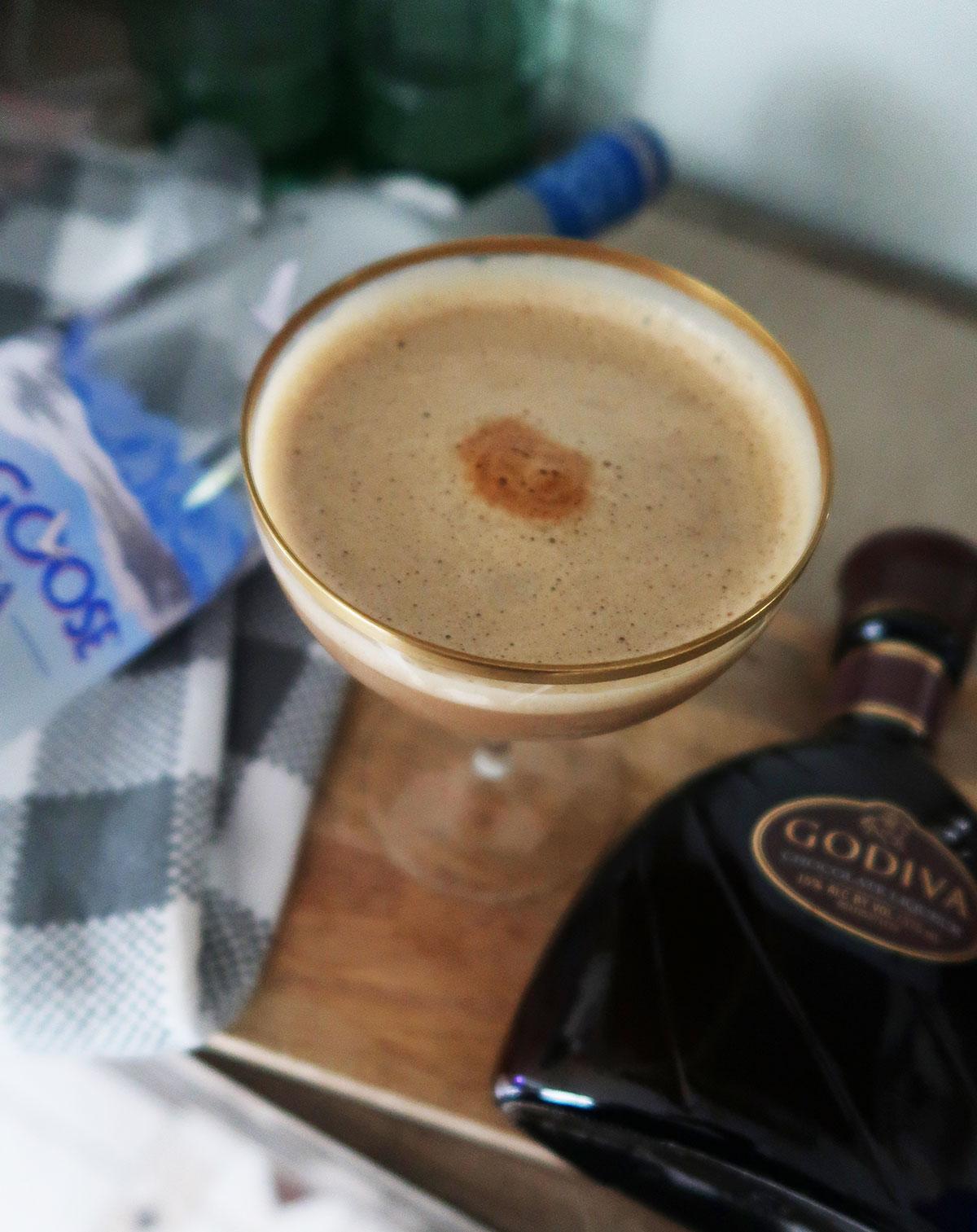 mocha espresso martini