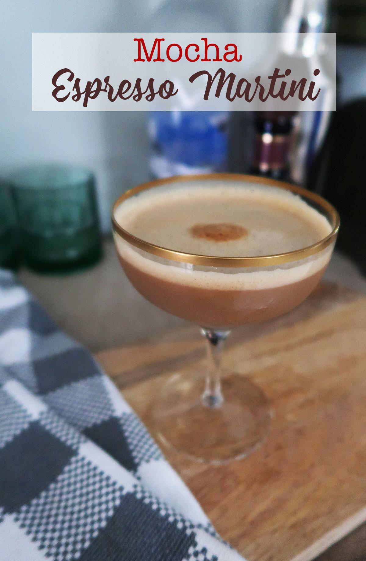 mocha espresso martini recipe