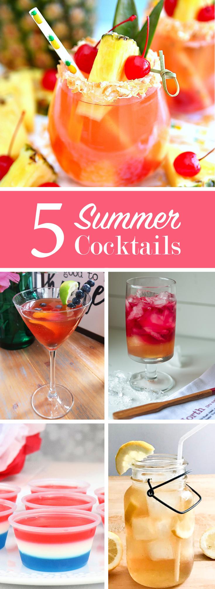 5 Summer Cocktails