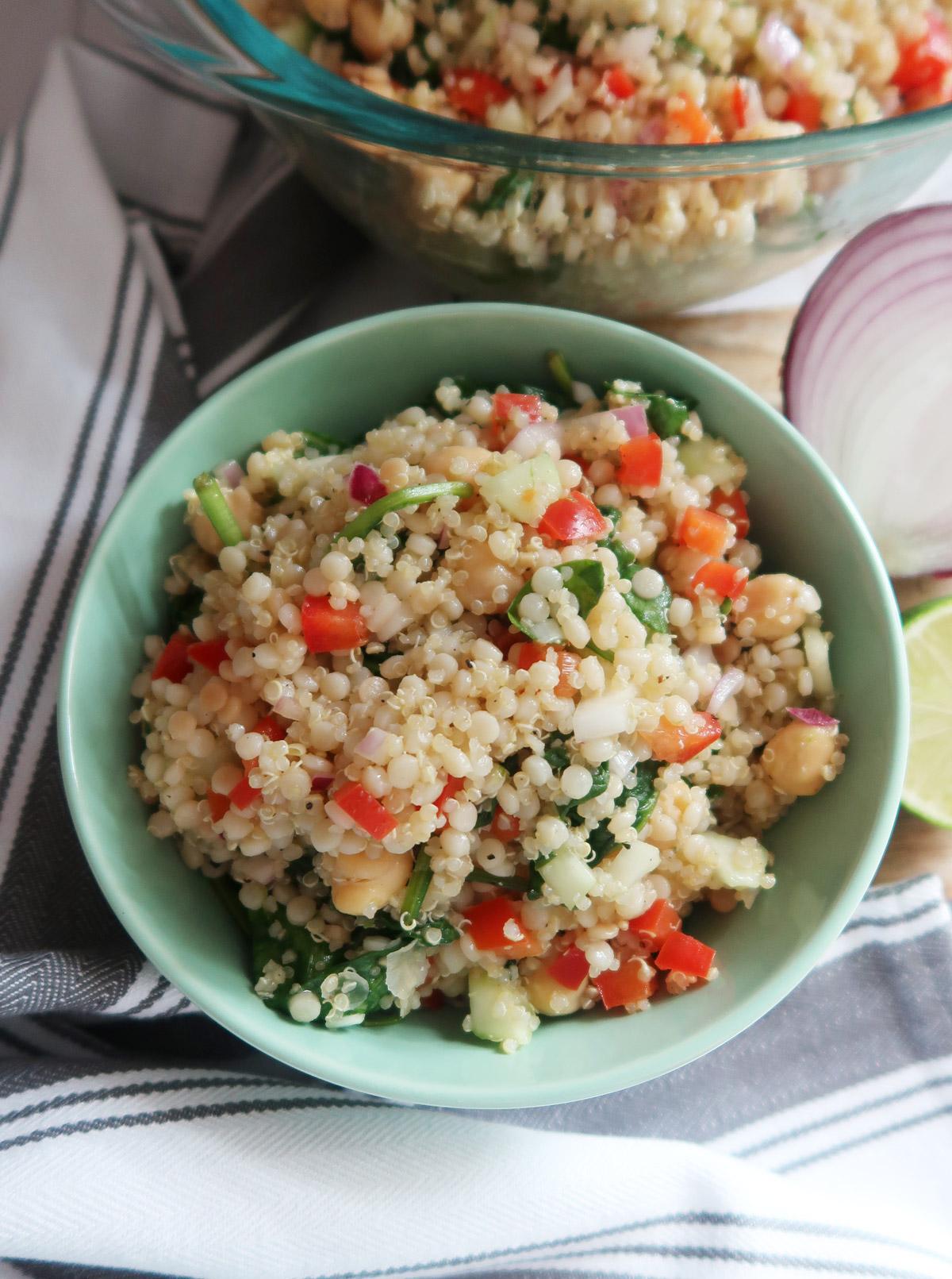 Couscous and Quinoa Salad recipe
