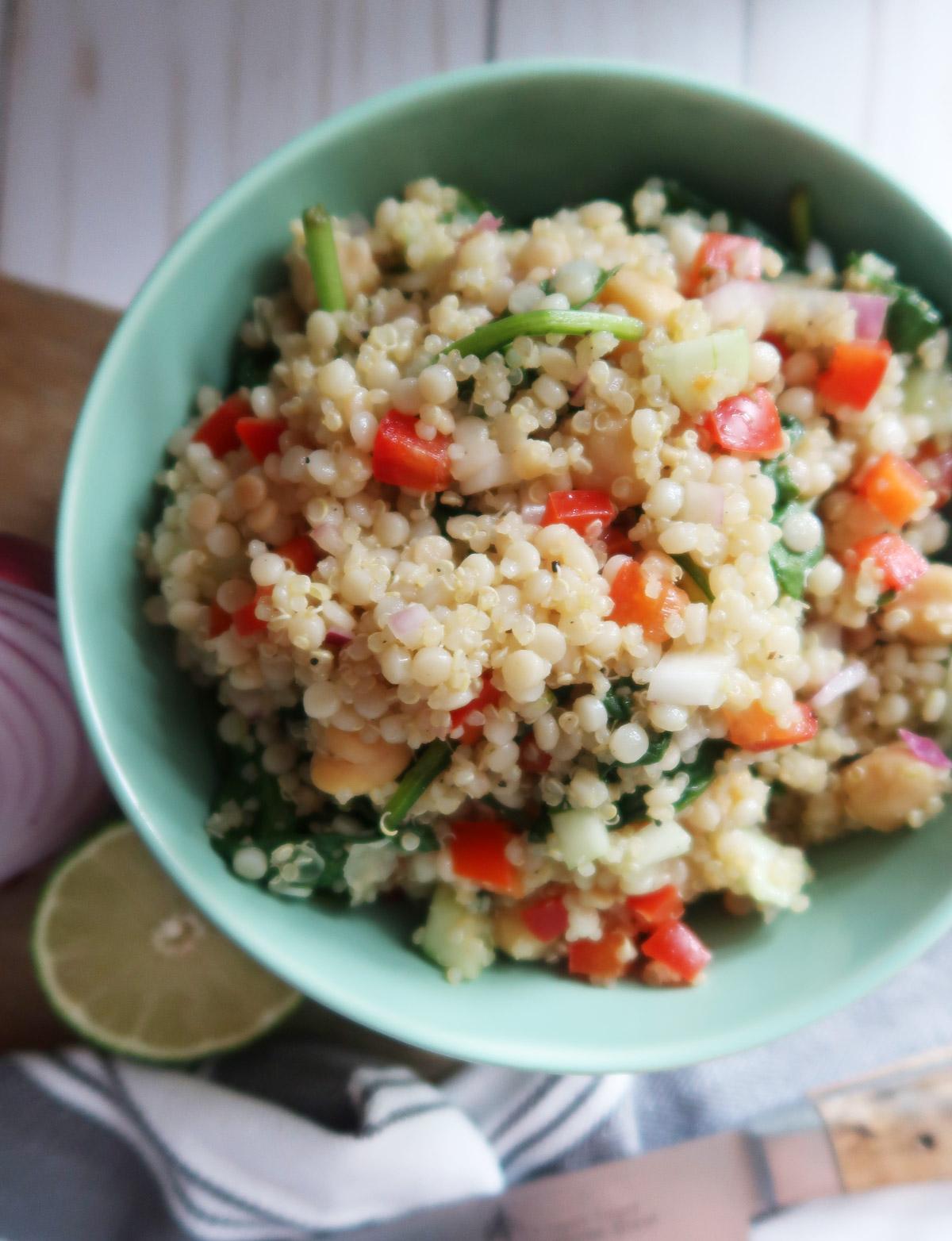 Couscous and Quinoa Salad