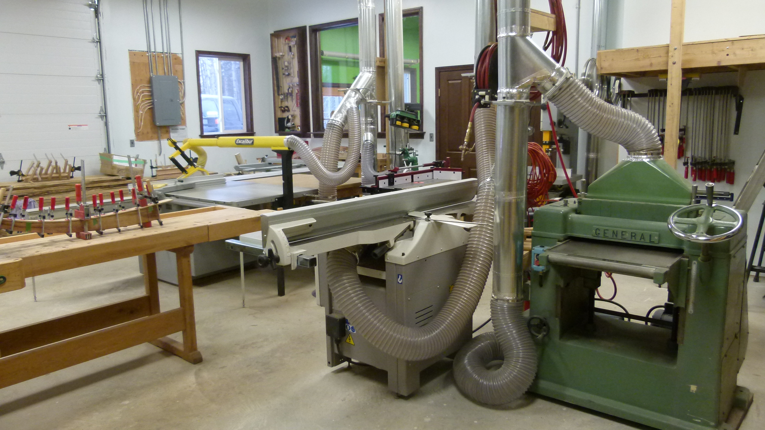 Jointer and planer.