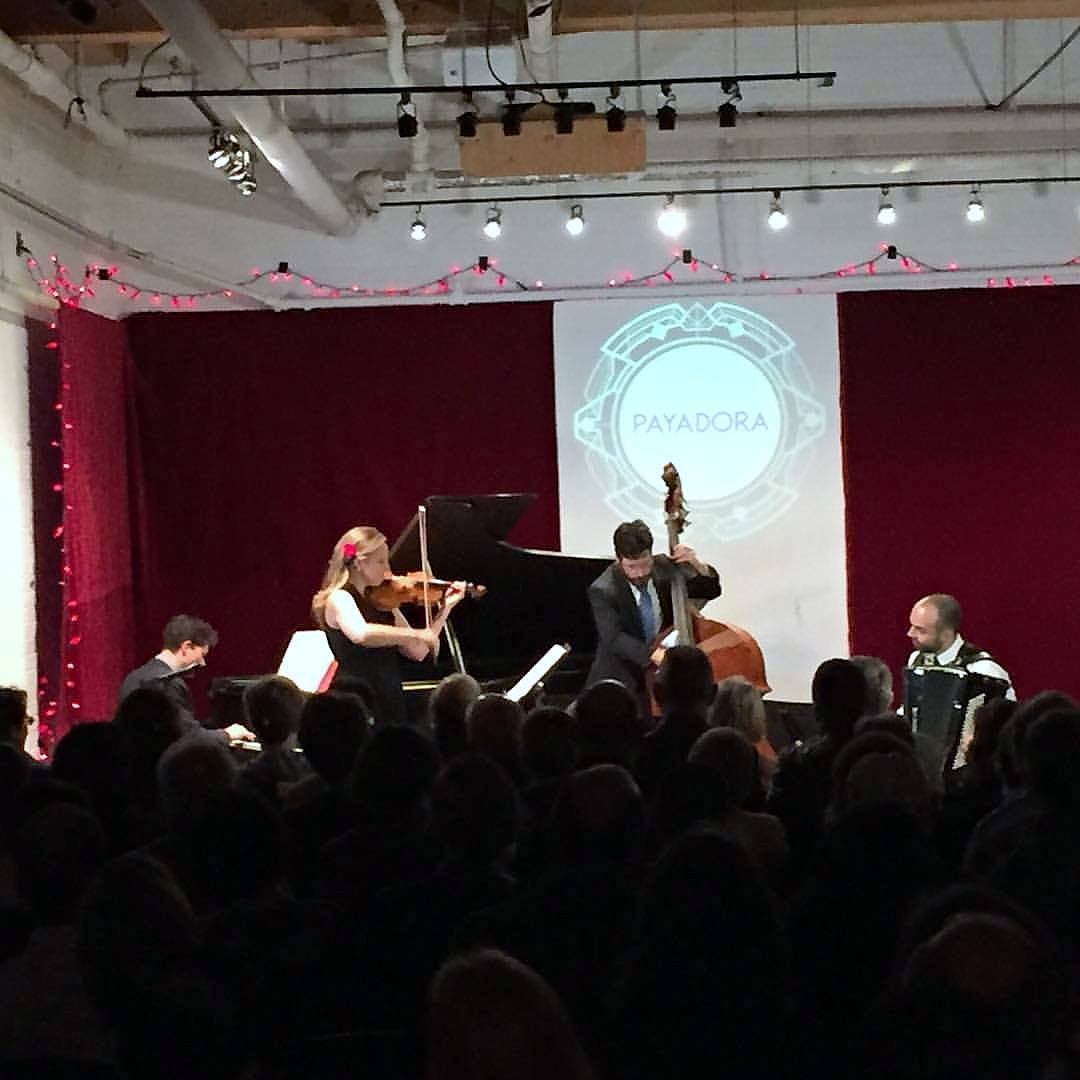 CD release concert at Gallery 345, Toronto (photo by Drew Jurecka)
