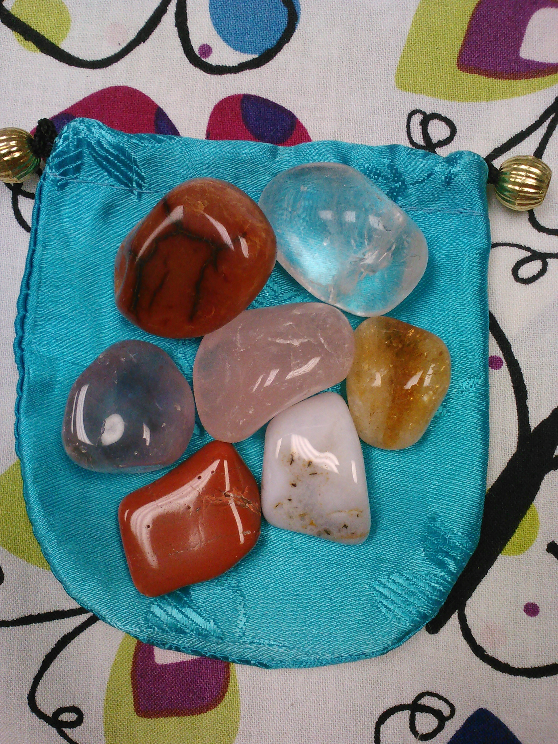 Crystal Chakra Bag © A Celestial Solution
