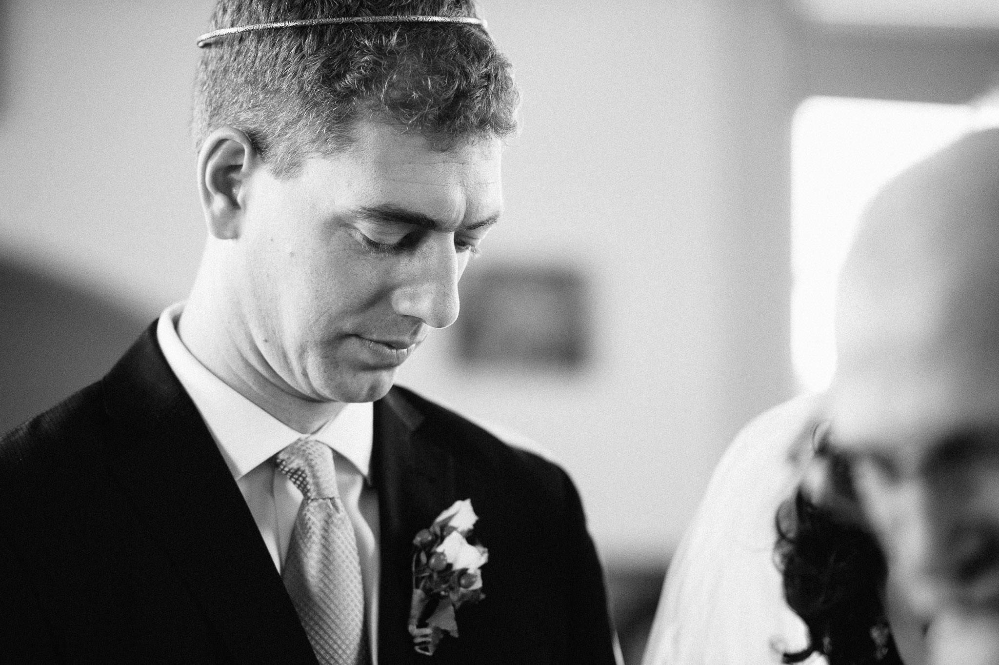 Wedding ceremony - groom