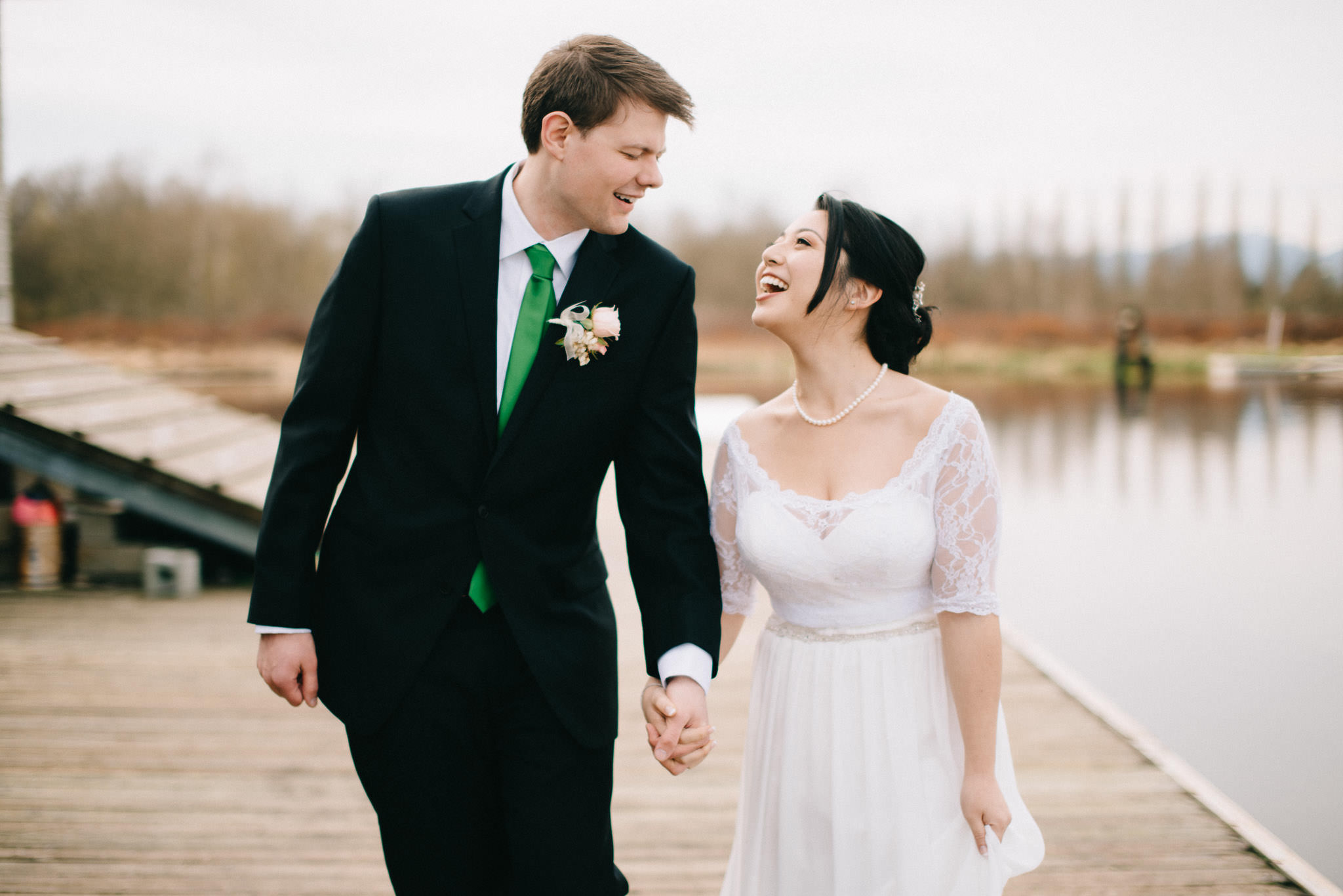 Burnaby Lake Rowing Pavillion wedding